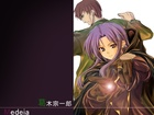 Fate Stay Night, facet, kobieta, napisy
