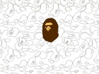 Bathing Ape, g�owa, ma�pa