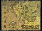 The Lord of The Rings, znaki, napis, mapa
