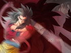 Dragon, Ball, Goku SSJ4