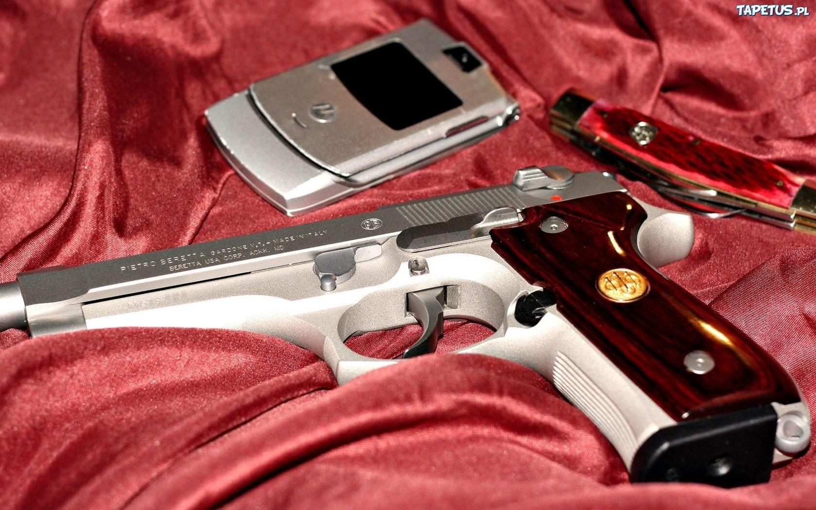 Автомат, нож и пистолет  № 3465070 загрузить
