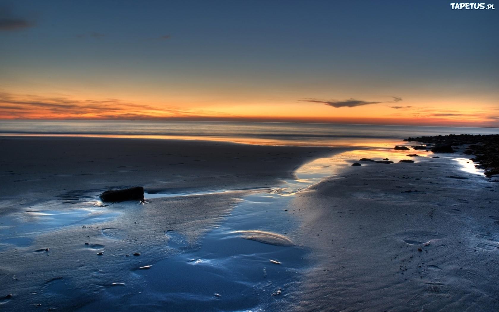 Iphone 6 Wallpaper Beach Tumblr Best Wallpaper: Plaża, Zachód, Słońca