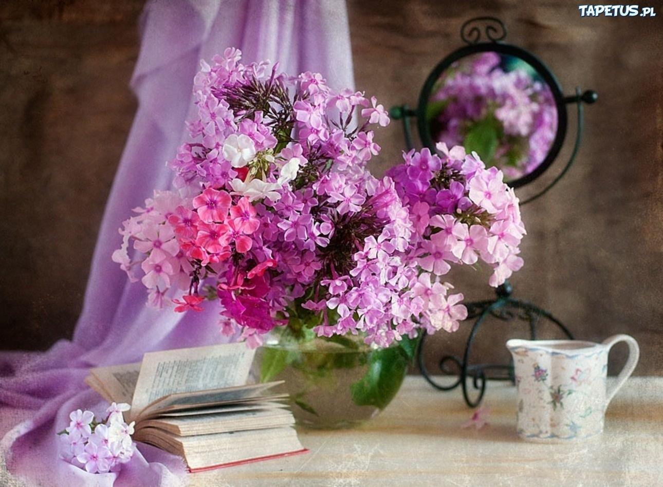 Kwiaty, Wiosenne, Wazon