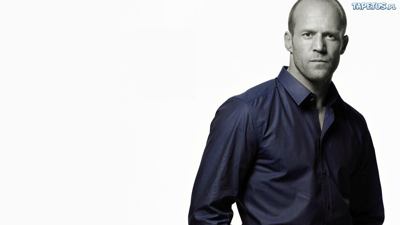 Jason Statham, Aktor, Koszula, Granatowa
