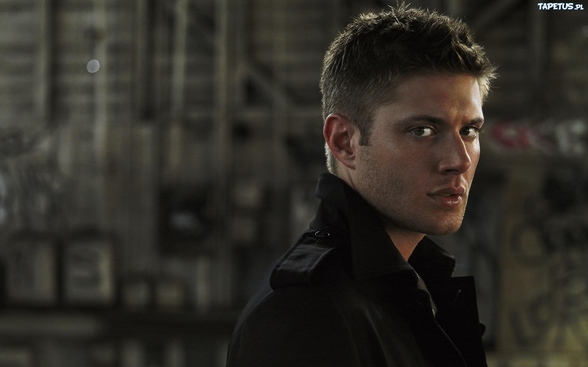 Jensen ackles, aktor, spojrzenie