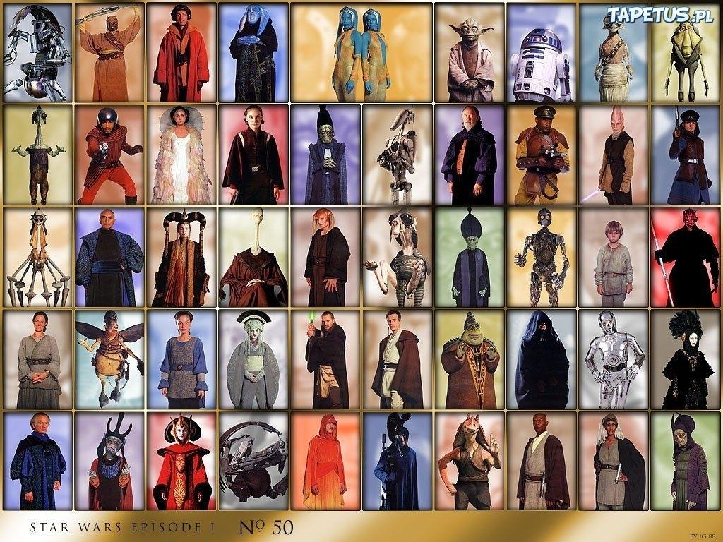 Zdj cia star wars postacie - Personnage star wars 6 ...