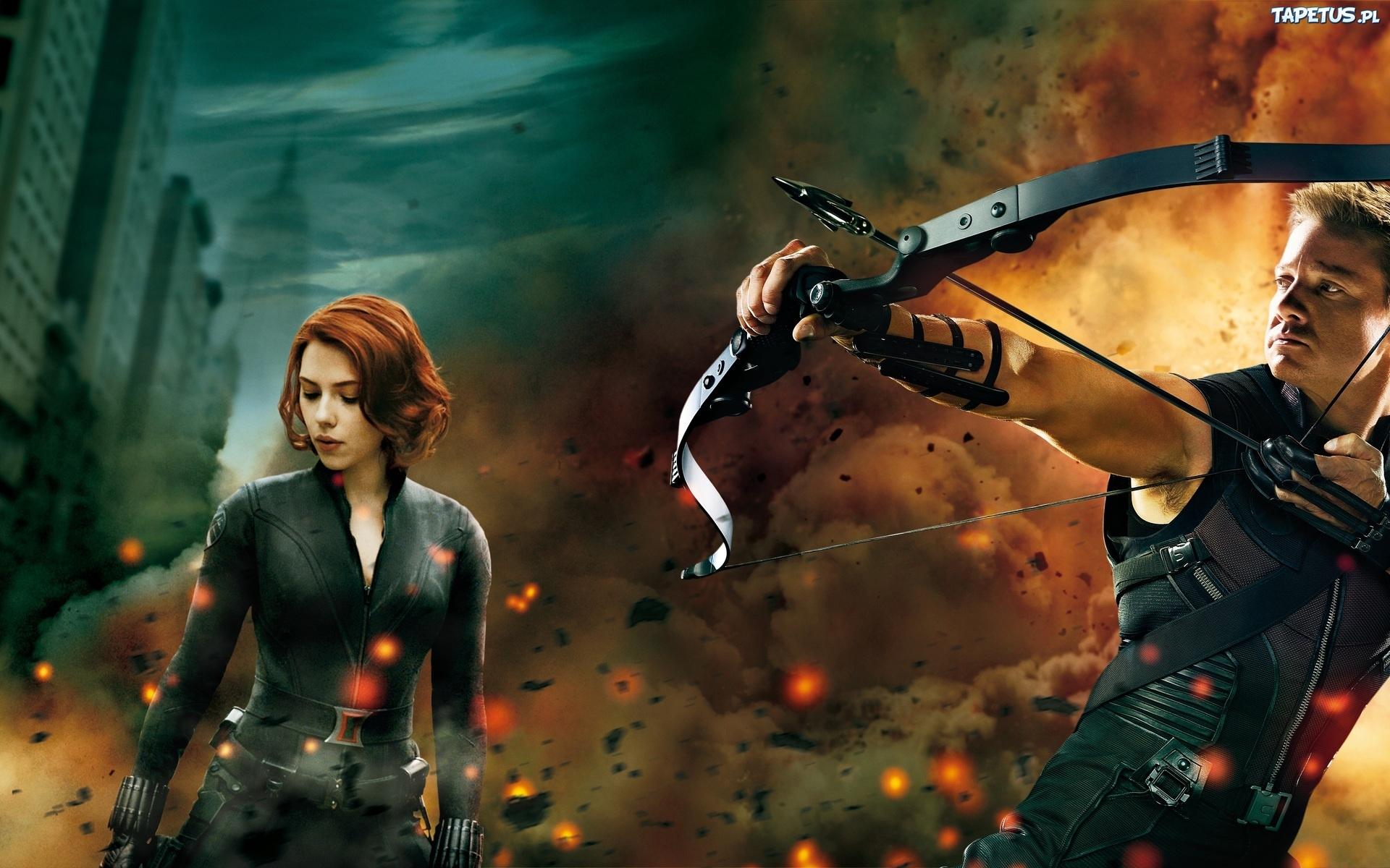 Avengers, Bohaterowie, Scarlett Johansson, Jeremy Renner