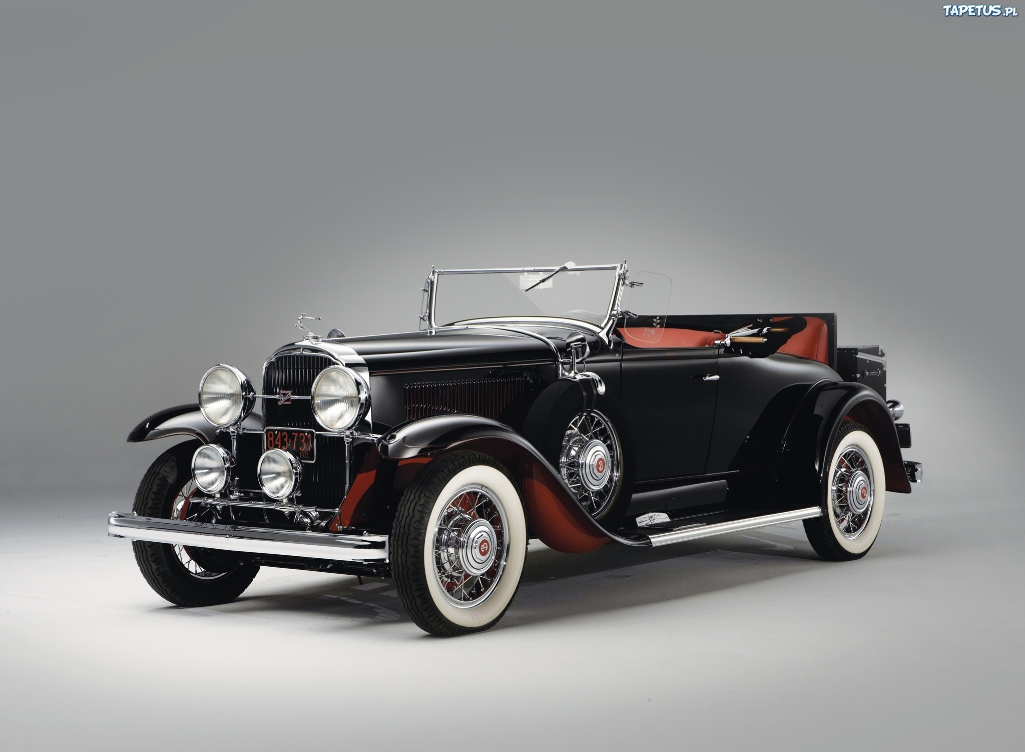 Tapeta Buick, Czarny, Samochód, Zabytkowy