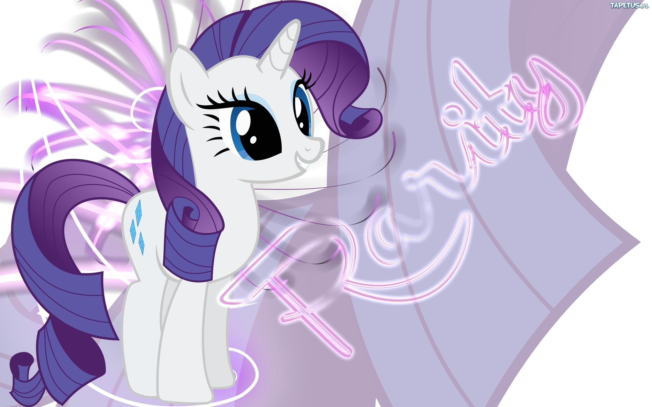 Tapeta My Little Pony  Przyja     To Magia  Rarity