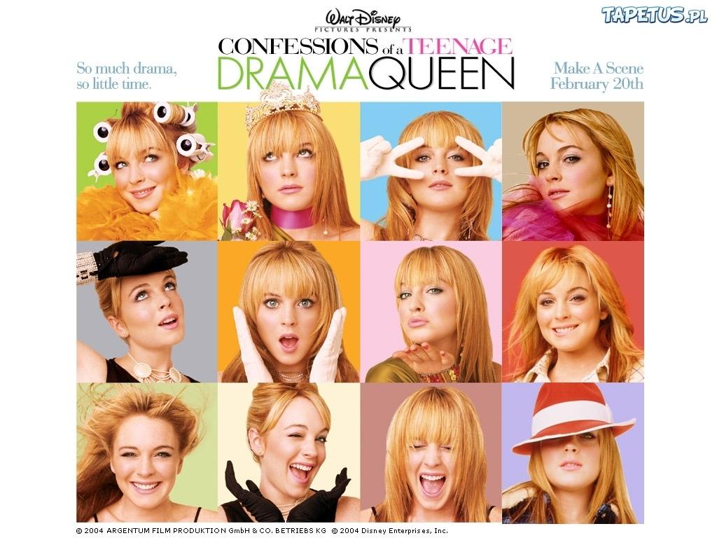Tapeta Confessions Of A Teenage Drama Queen, zdjęcia, Lindsay Lohan