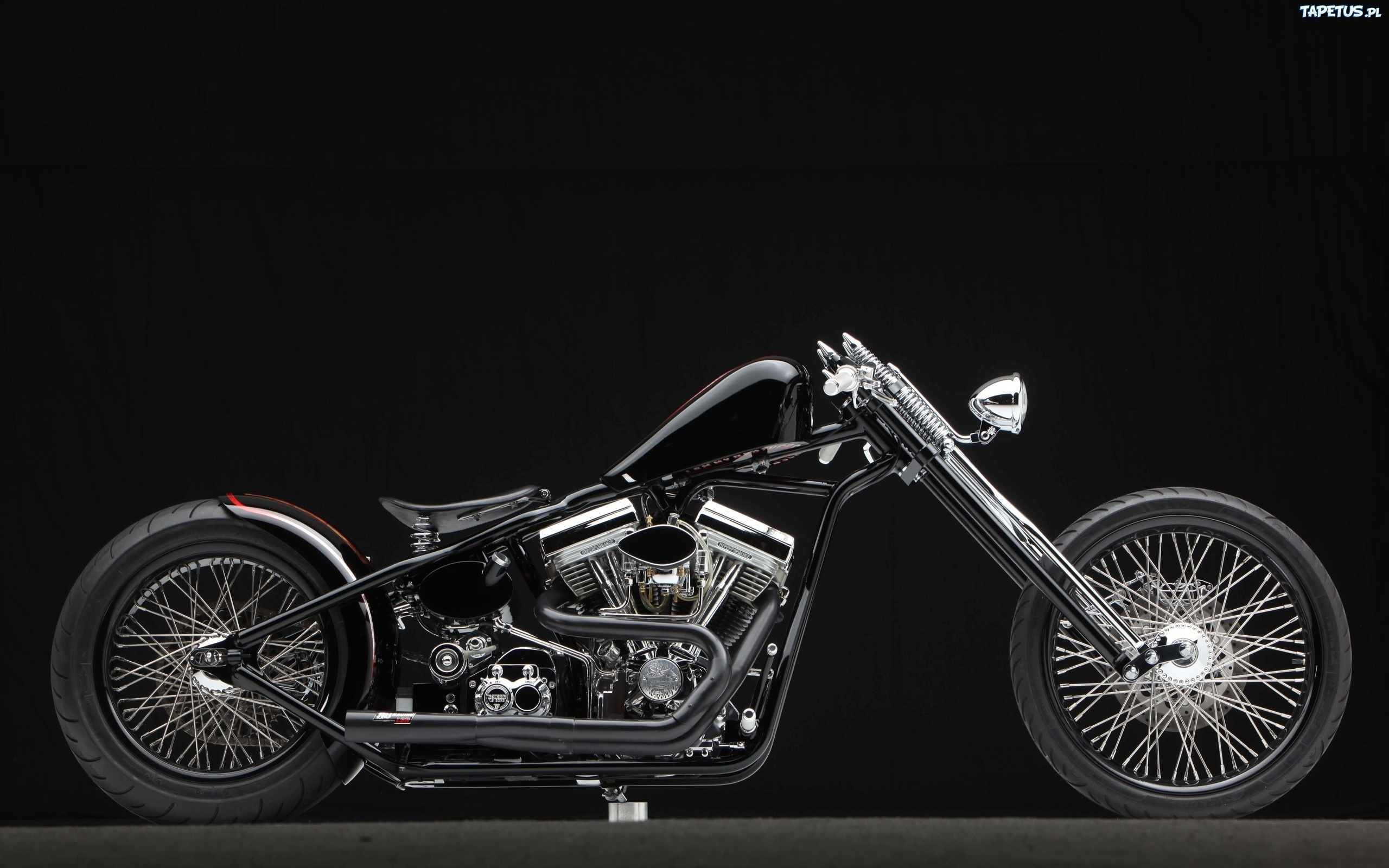 мотоцикл черный харлей  № 23838 бесплатно