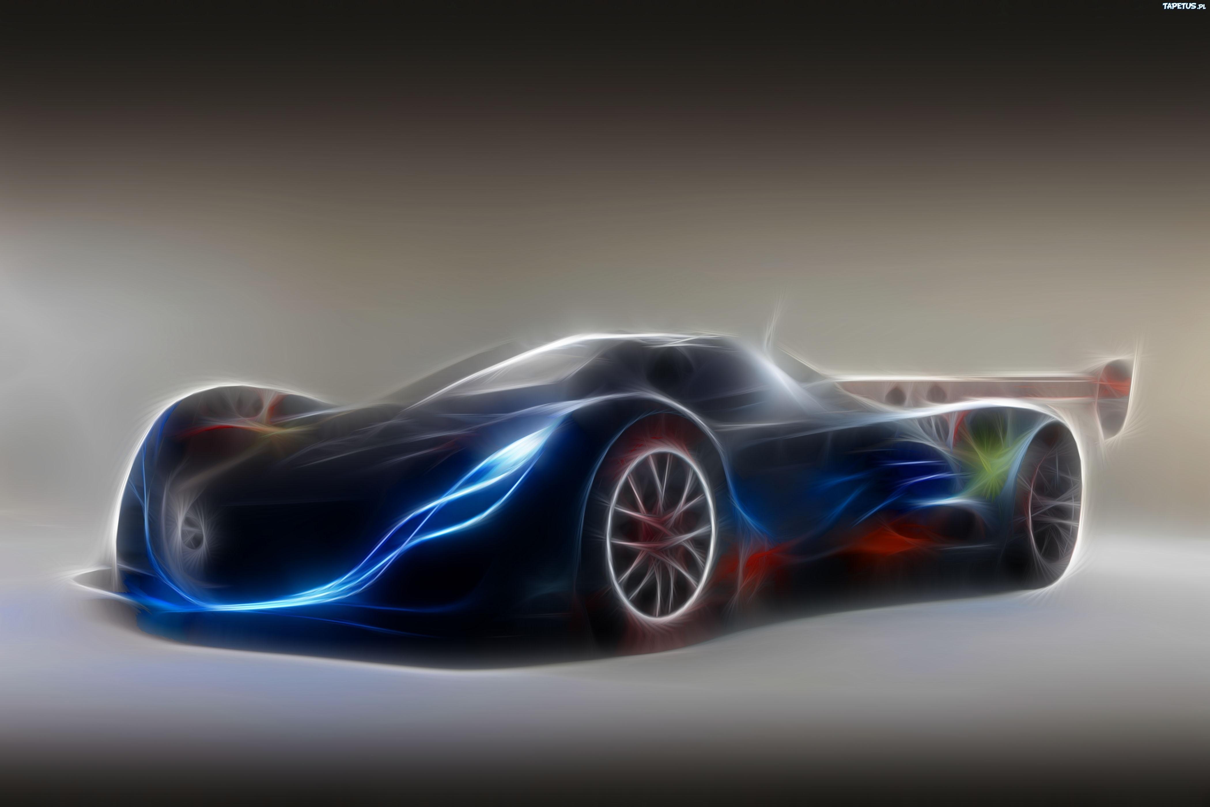 Mazda Furai Vehículos Supercars Hd Fondos De Pantalla: Mazda, Furai, Fractalius