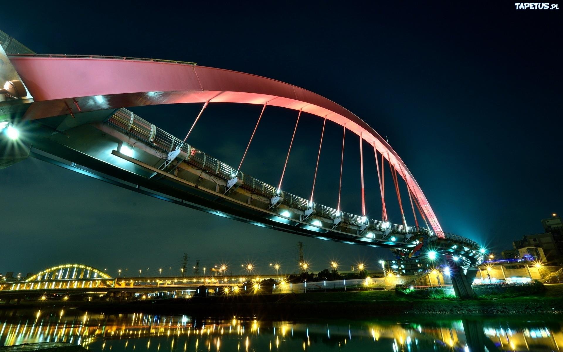 Pin Tapeta-tajwan-taipei-dazhi-bridge On Pinterest