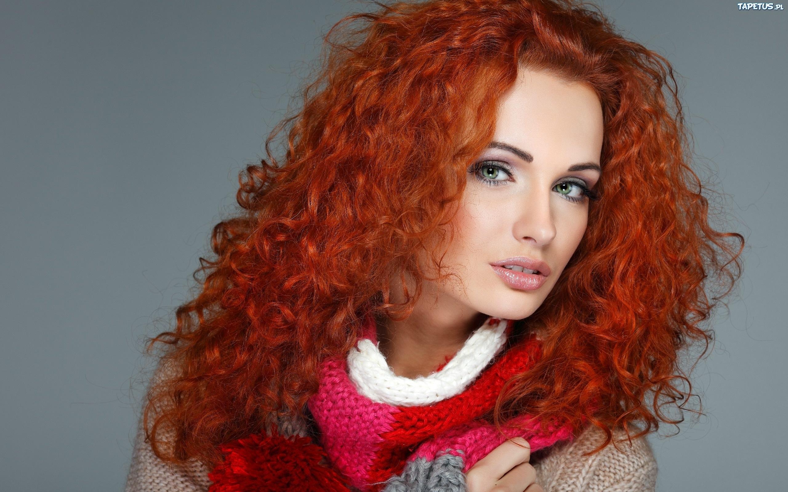 темно рыжие волосы с мелированием фото