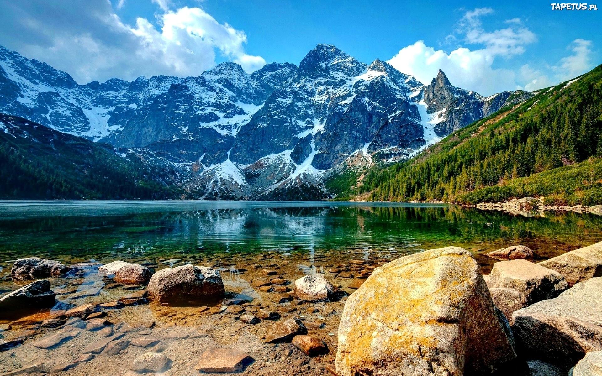 Znalezione obrazy dla zapytania góry morskie oko