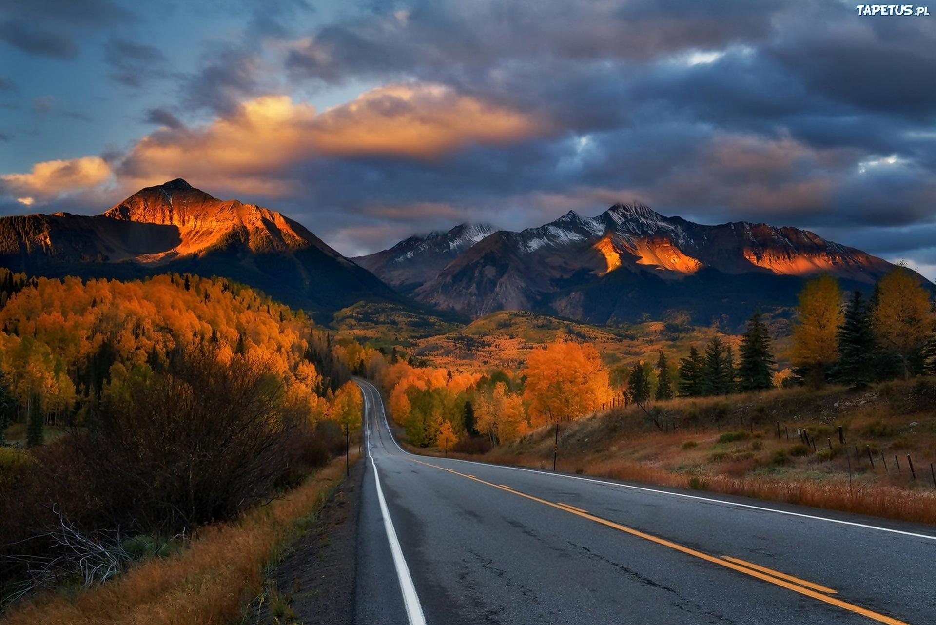 дорога горизонт даль горы  № 3816663 без смс