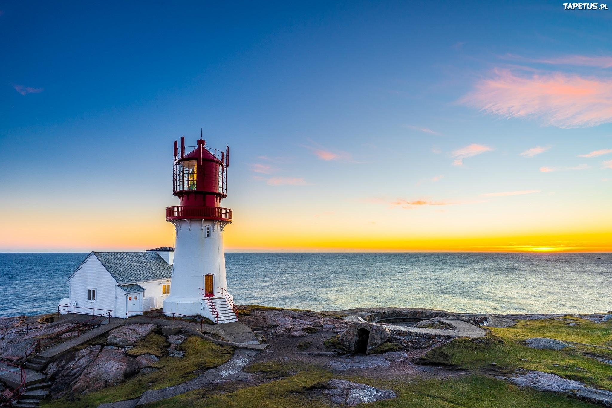маяк небо море дом  № 3968894 бесплатно
