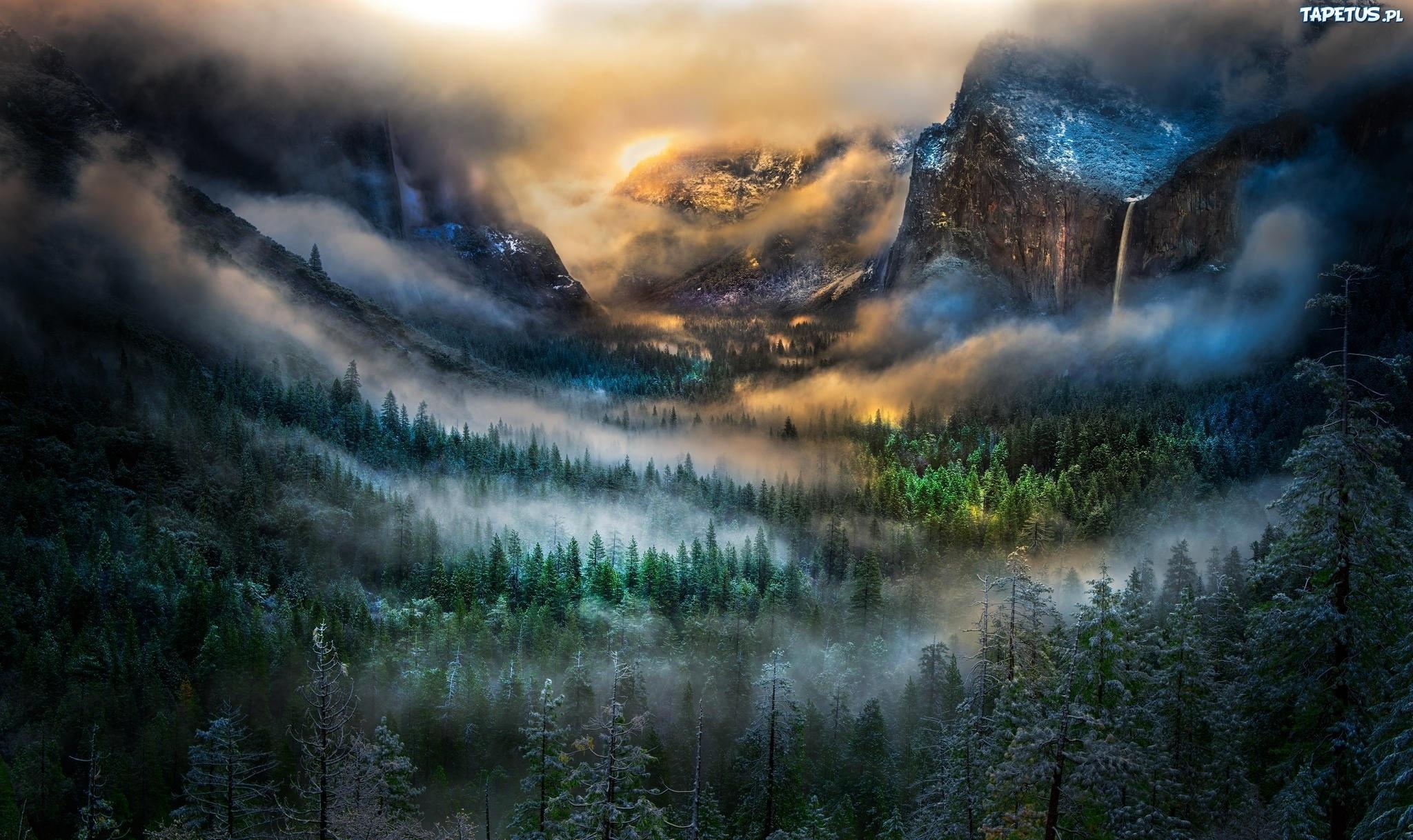 туман в горах1  № 394465 бесплатно