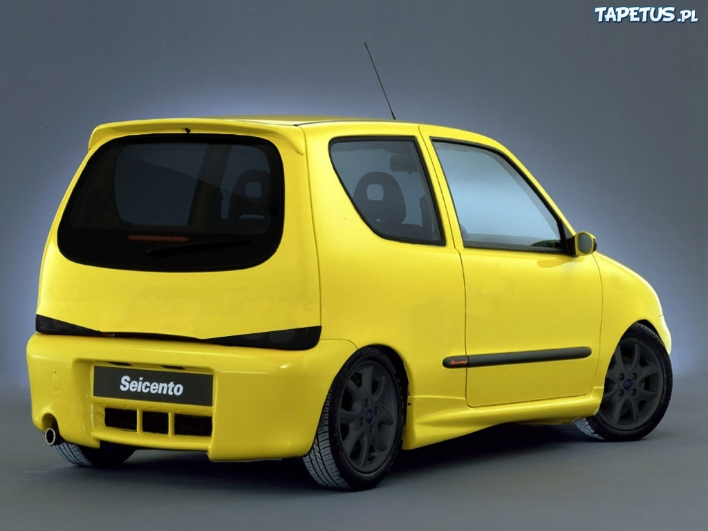 fiat seicento tuning bad look. Black Bedroom Furniture Sets. Home Design Ideas