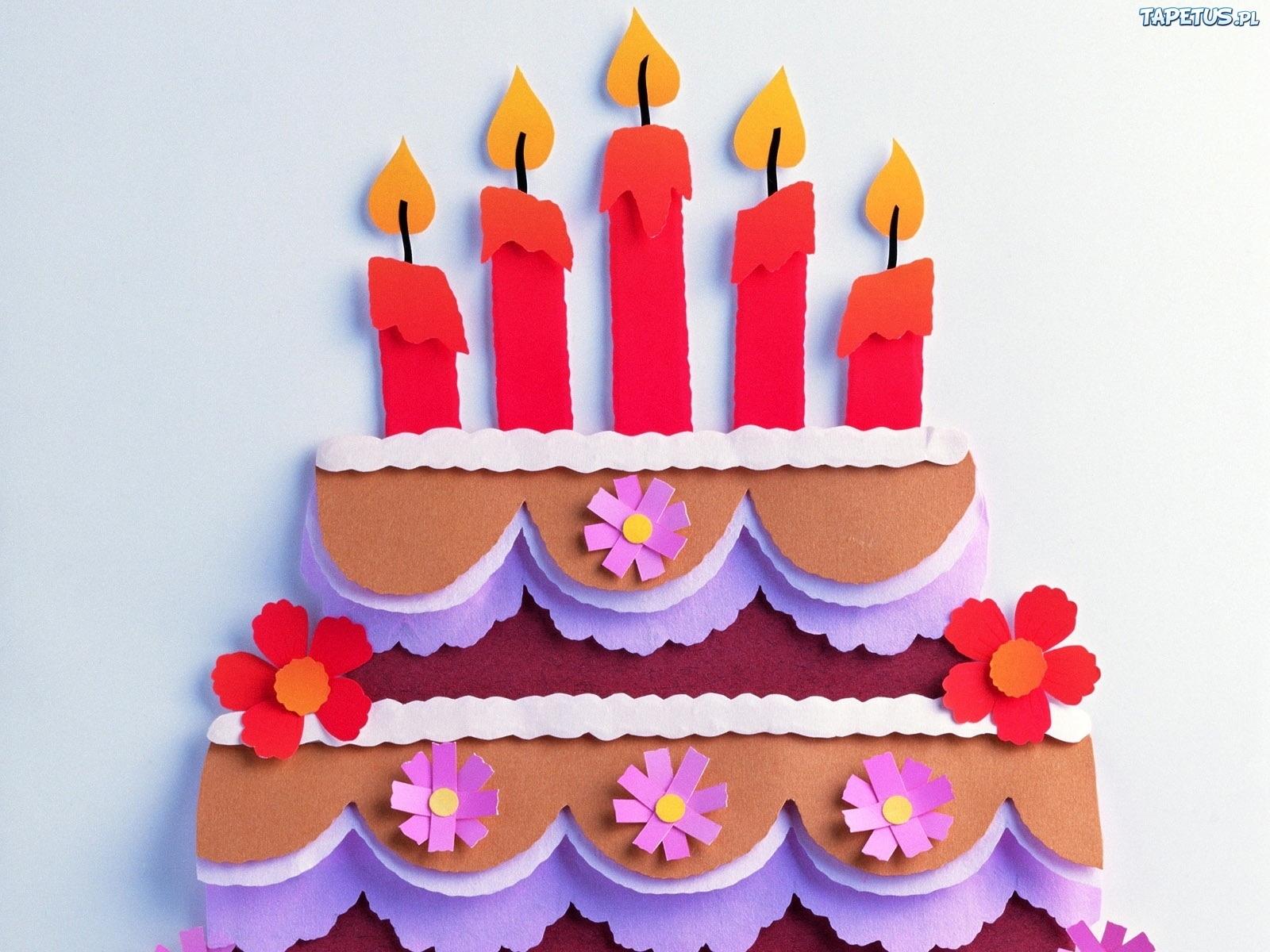 Картинки поделки из бумаги на день рождения
