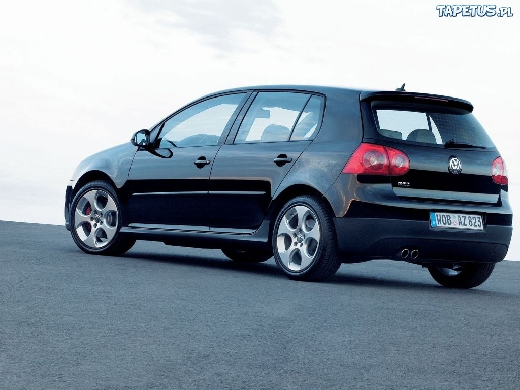 volkswagen golf 5 gti czarny. Black Bedroom Furniture Sets. Home Design Ideas