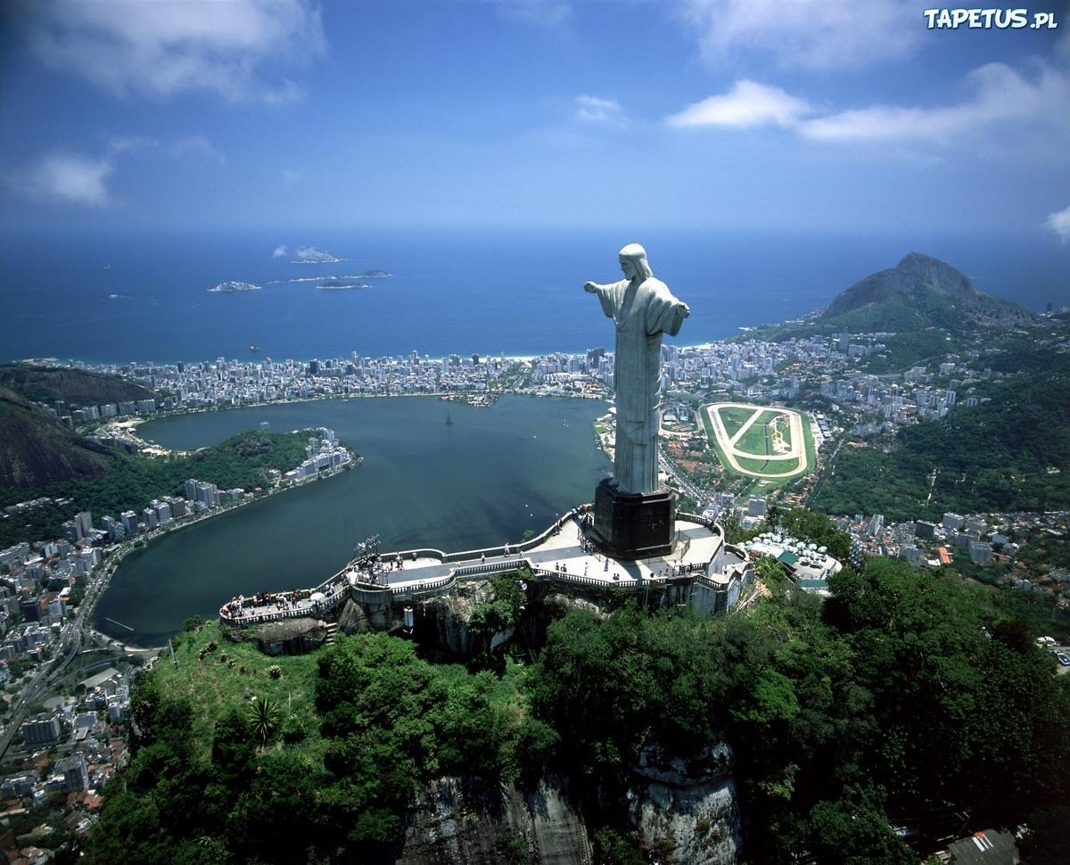Rio De Janeiro Jezus Widok Brazylia