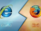 Internet Explorer, Vs, Firefox