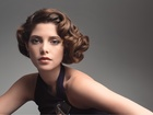 Ashley Greene, Brunetka, Czarny, Top