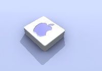 Apple, Logo, Kostka