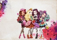 Apple White, Briar Beauty, Raven Queen, Madeline Hatter