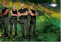 Gwiezdne Wrota, Stargate SG-1, Richard Dean Anderson, Amanda Tapping, Christopher Judge, Michael Shanks