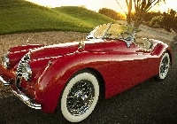 1954, Jaguar, XK,120, Roadster