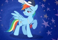 My Little Pony, Rainbow Dash trener, gwiazdki
