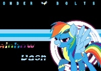 My Little Pony, Rainbow Dash, Wonder Bolts