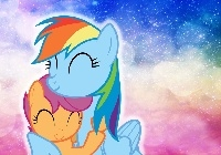 Rainbow Dash, Scootaloo