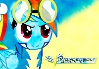 My Little Pony, Rainbow Dash, Wonderbolts Academy
