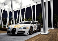 Bugatti Veyron, Supersport, Pur Blanc