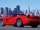 Dodge, Viper, SRT10, Most, Panorama, Miasta