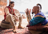 Film, Aladyn, Aladdin, Aktor, Mena Massoud, Will Smith