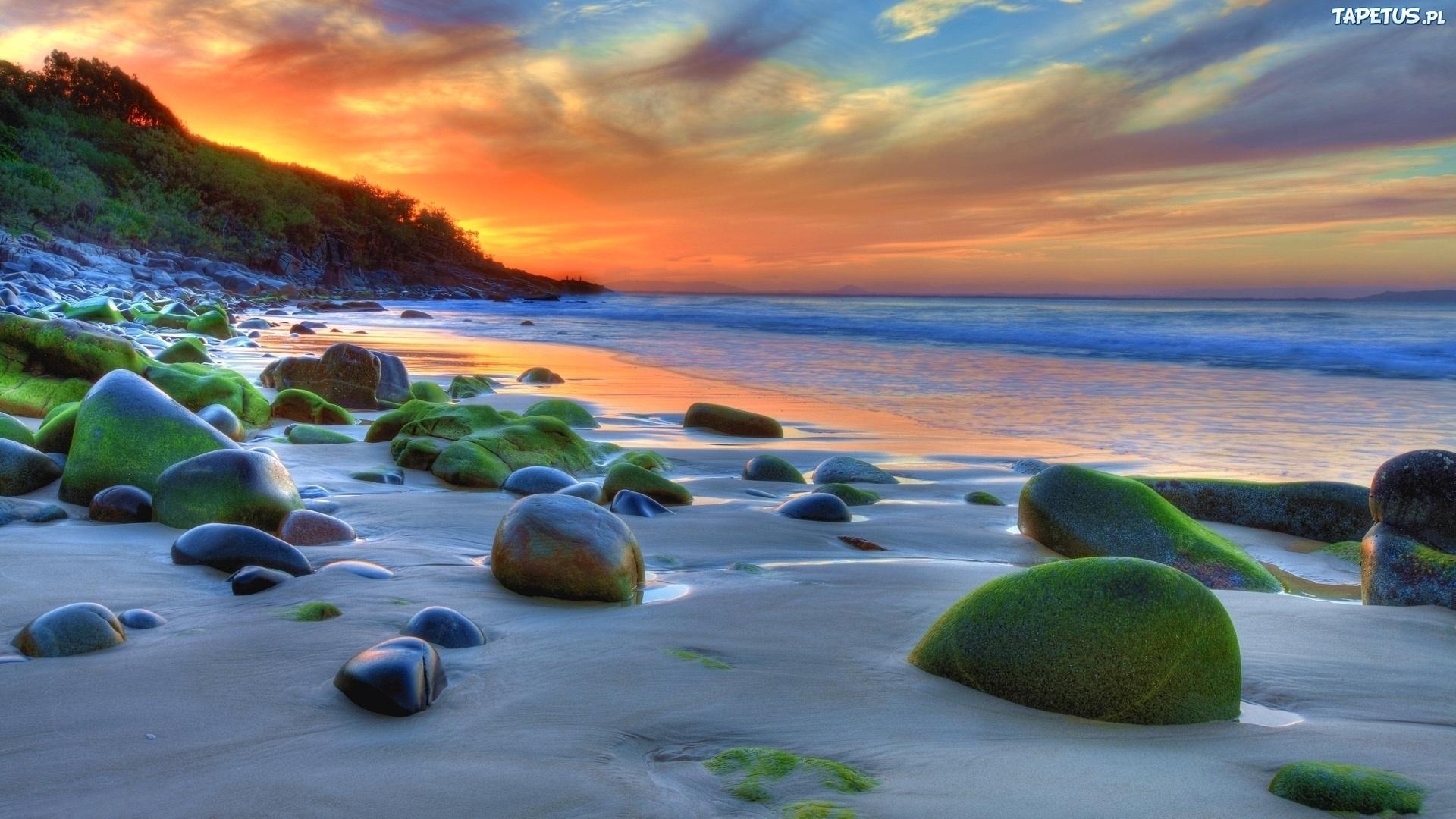 природа камни песок вода море побережье бесплатно