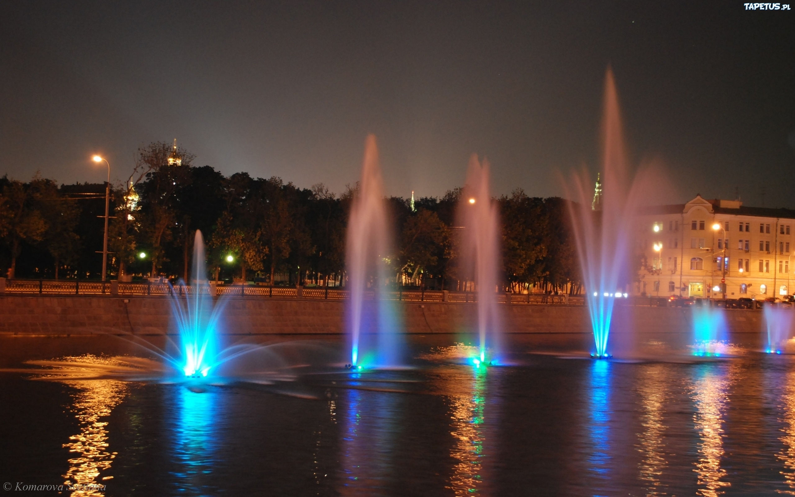 фонтан город сумерки fountain the city twilight без смс