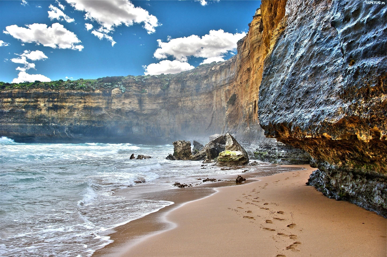 природа горы скалы море берег загрузить