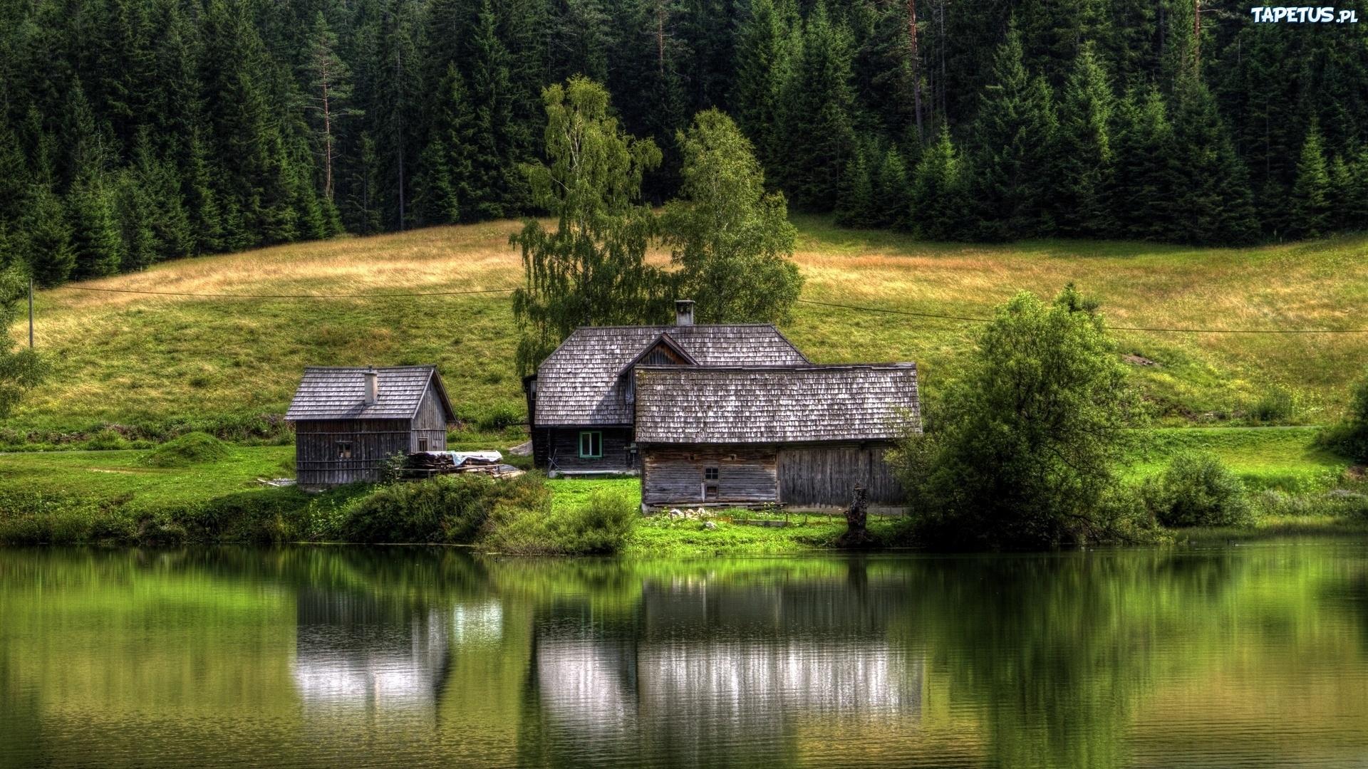 озер домик природа без смс