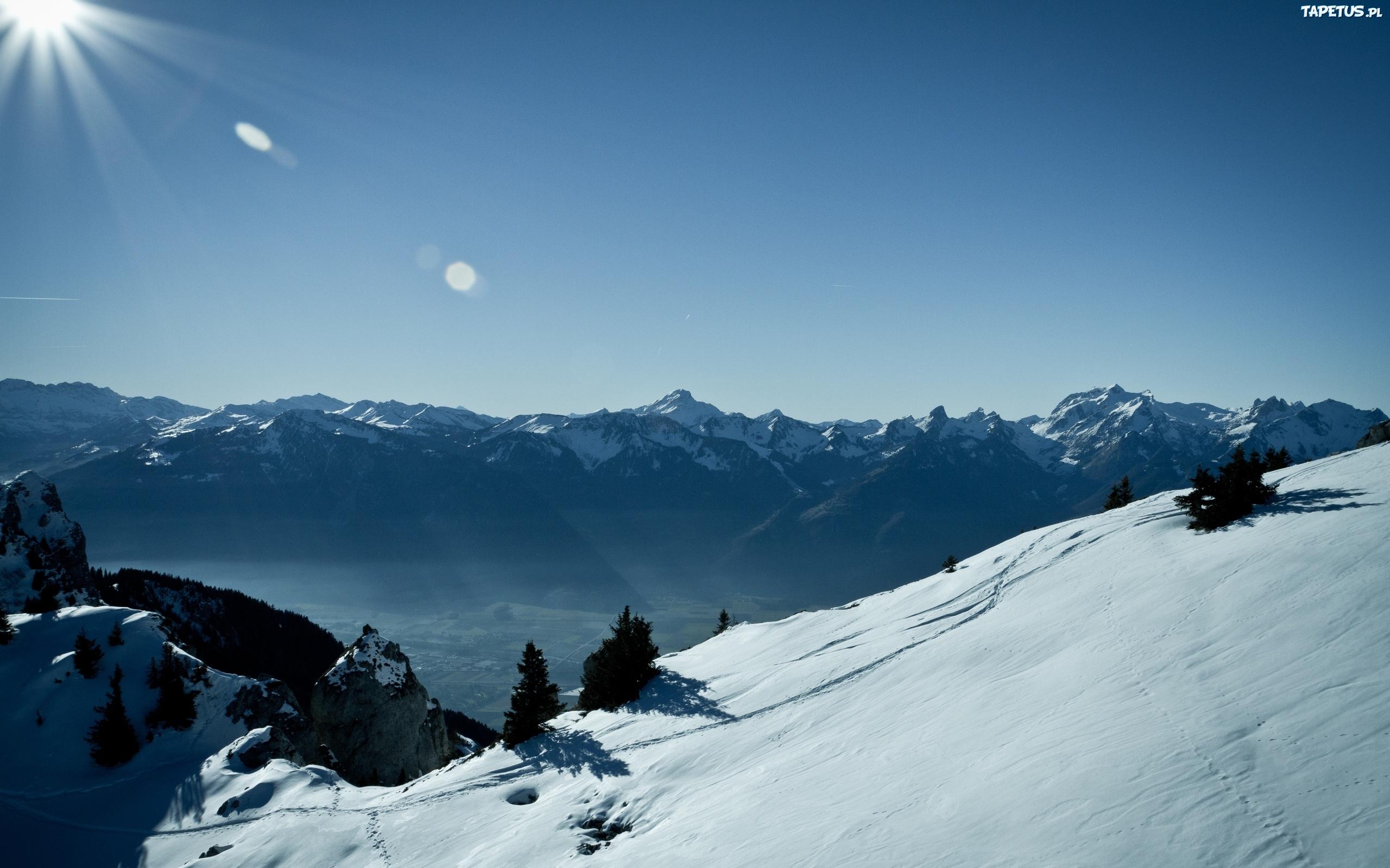 Горы снег с высоты без смс