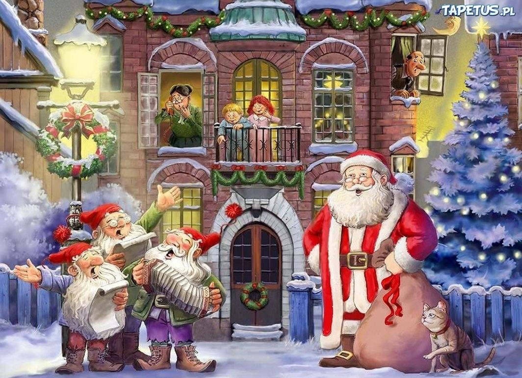цветовая картинки к песне новый год у ворот пример