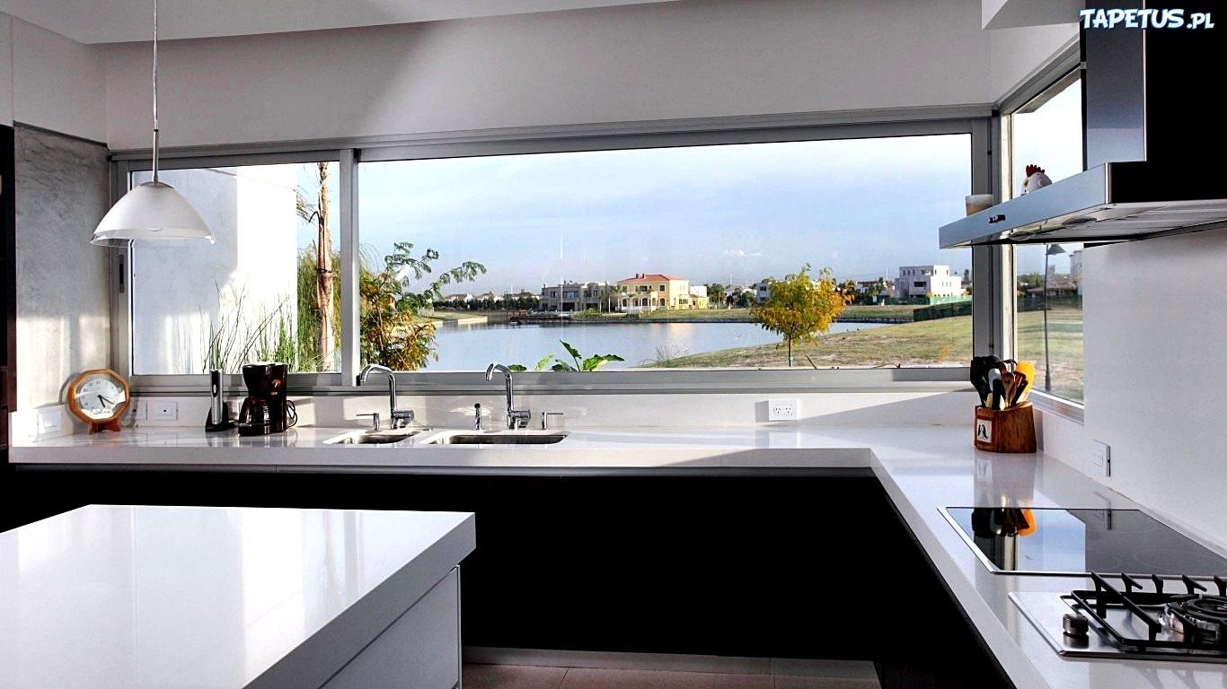 Dom Kuchnia Okno Widok