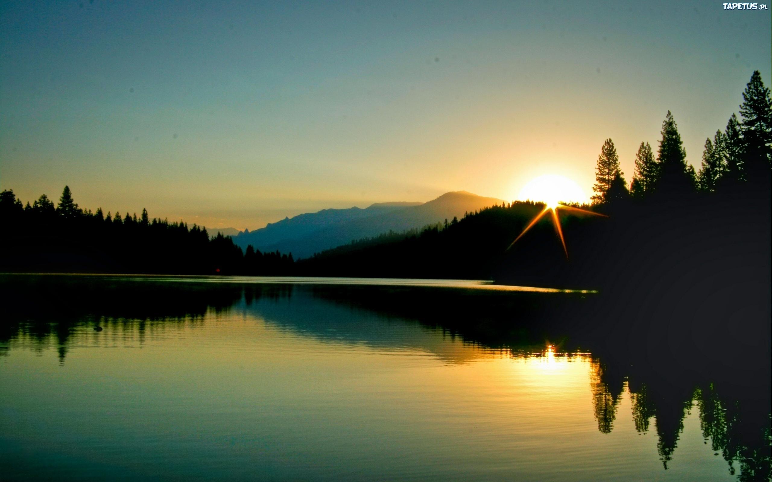 рассвет на озере без смс