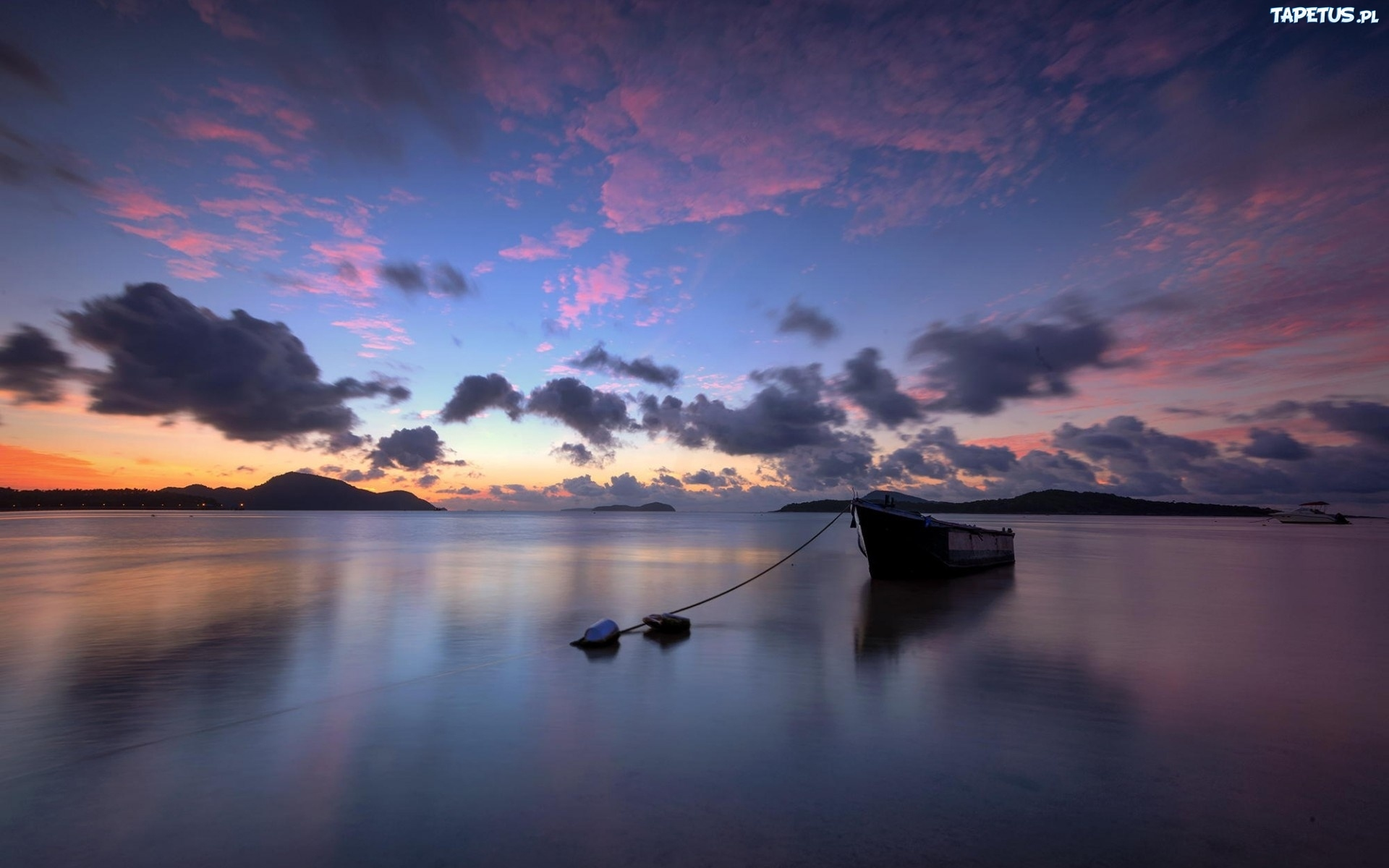 3840x2400 wallpaper ocean boat - photo #3