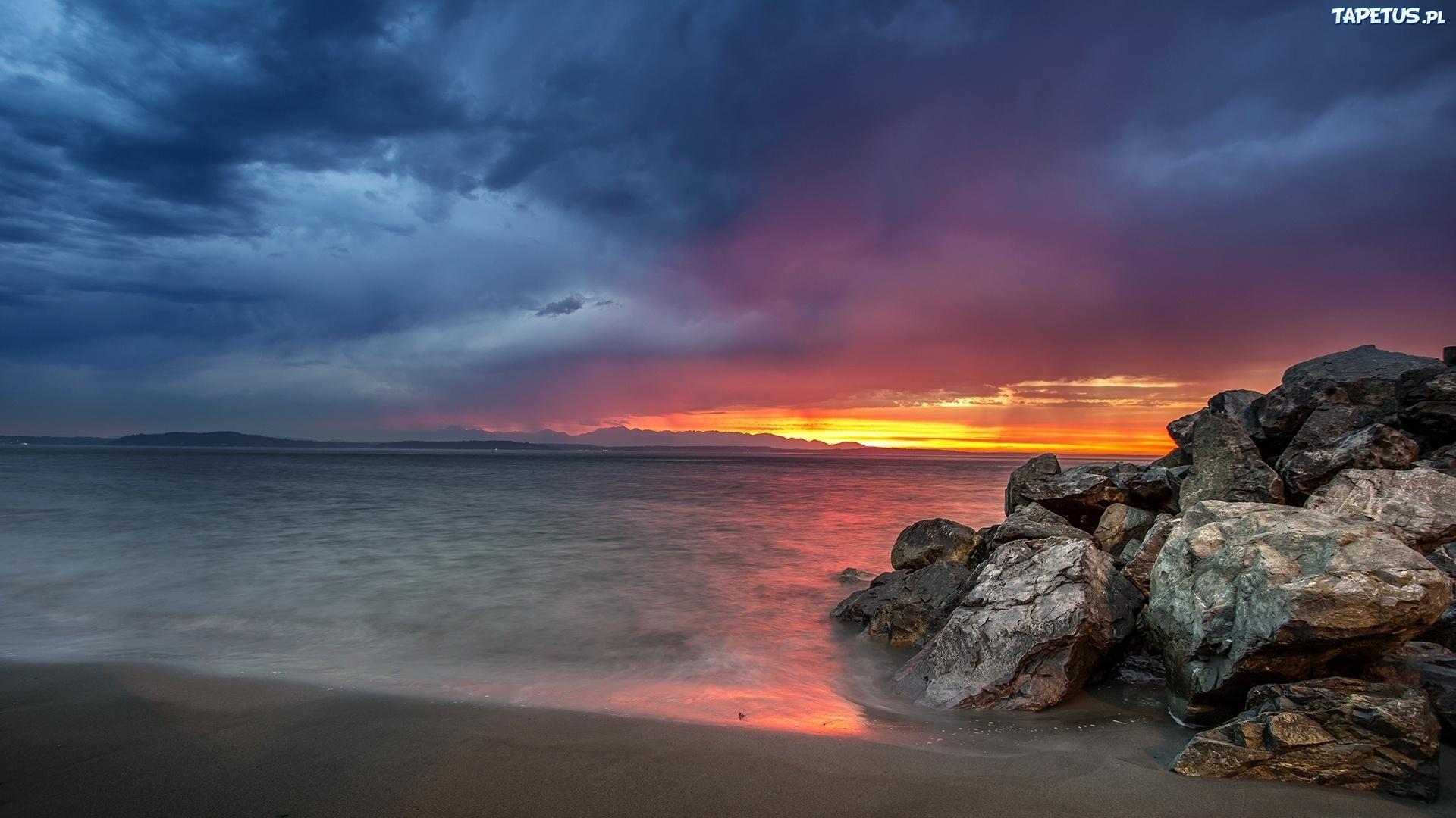 камни рассвет берег море подборки