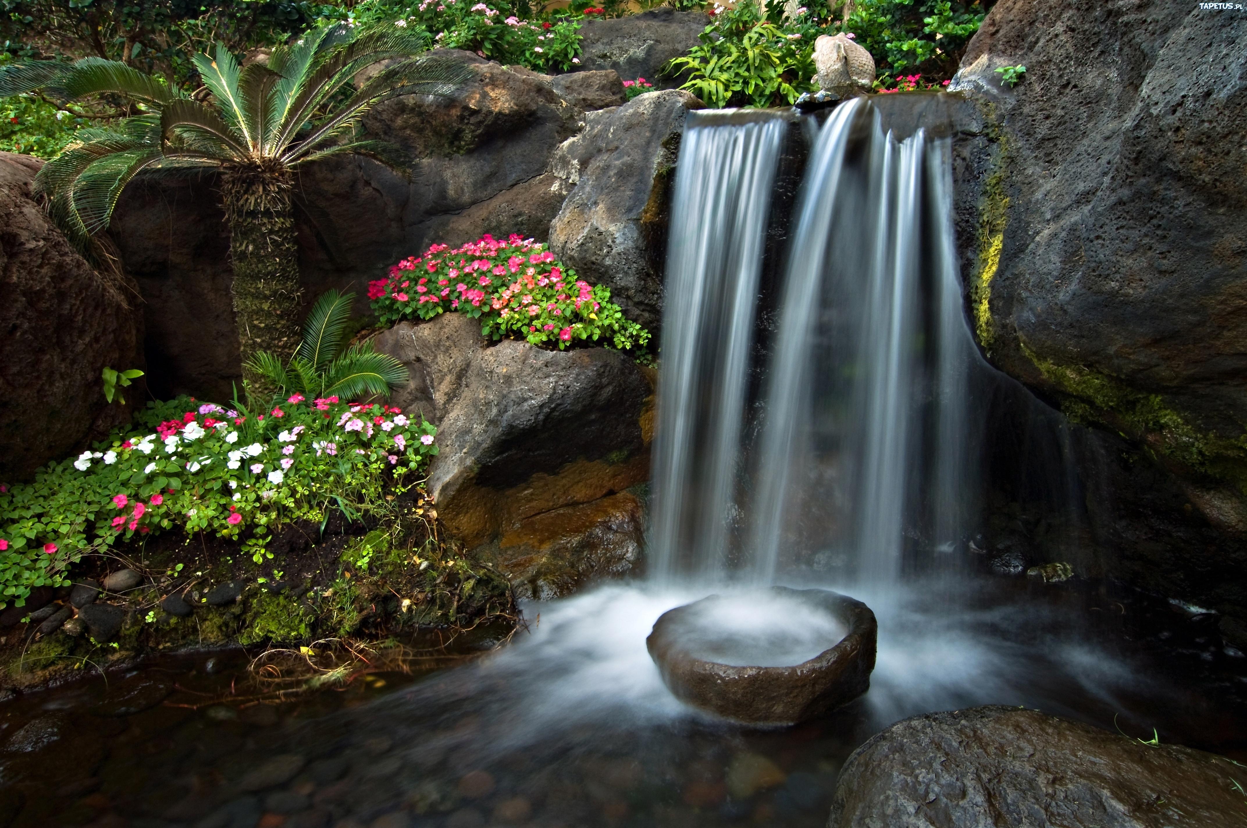 Домик сад камушки ручей без смс